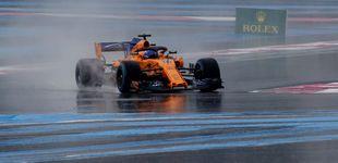Post de La clasificación del GP de Francia en directo: Alonso y Sainz sueñan con la Q3