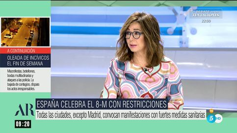 La advertencia de Ana Rosa en el 8-M: Que no me den lecciones de igualdad
