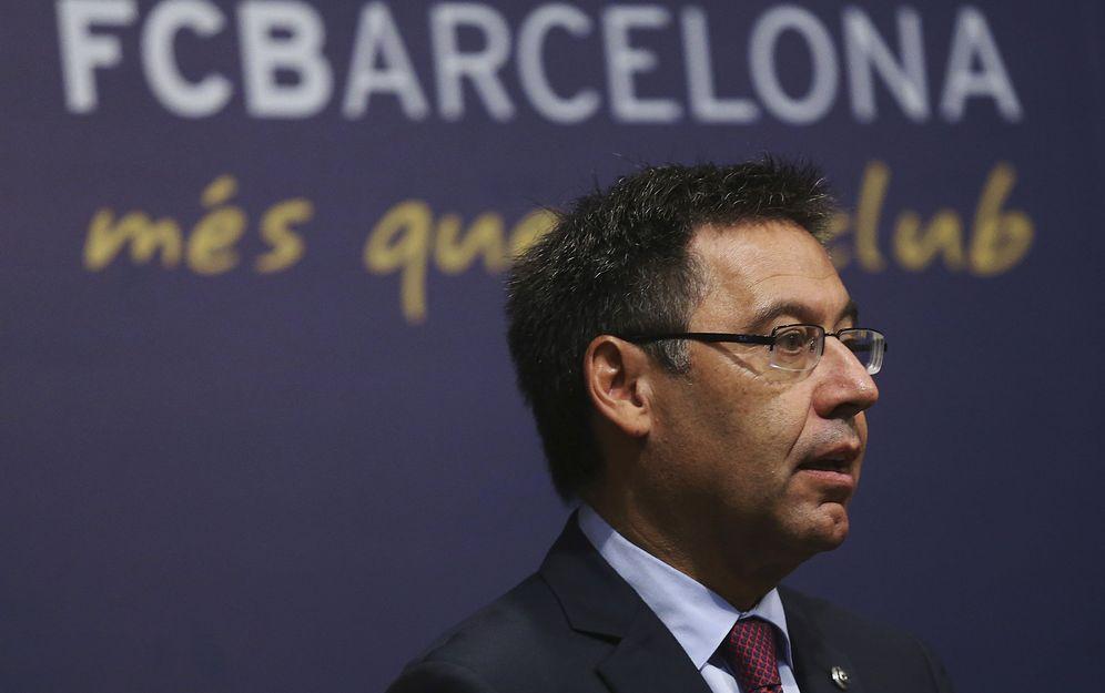 Foto: Josep Bartomeu, cada día más acorralado. (EFE)