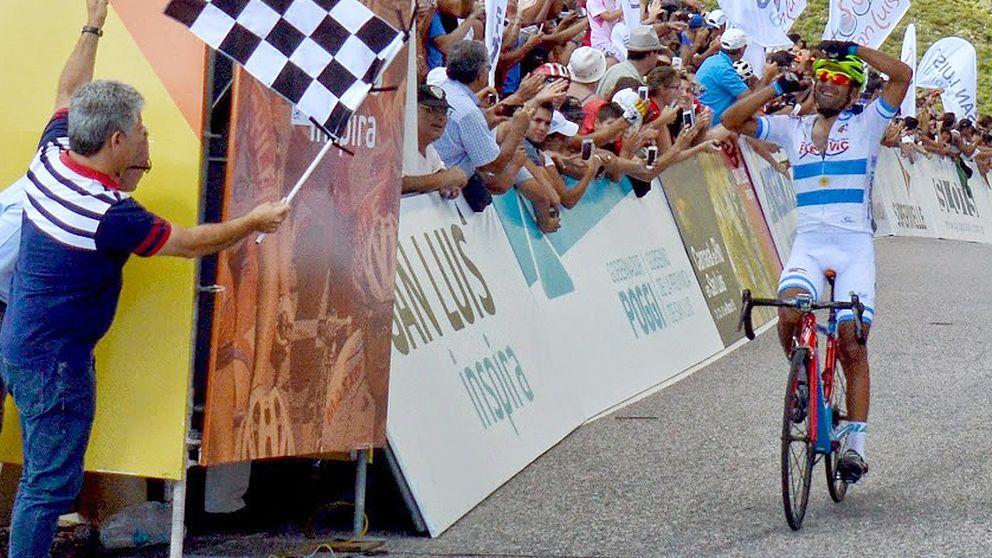 Dani Díaz destrona a Nairo y hace historia en el Tour de San Luis