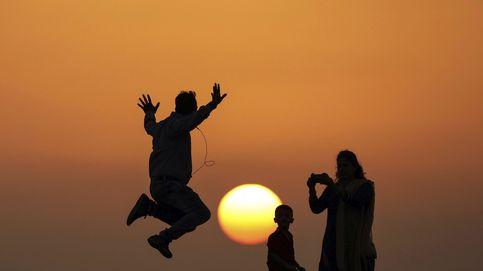Puesta de sol en Bombay