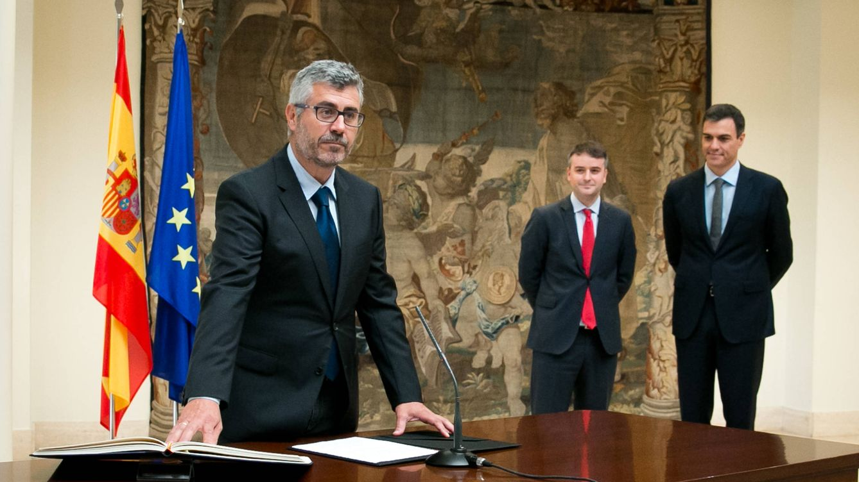 Sánchez mantiene a Miguel Ángel Oliver al frente de la comunicación del Gobierno
