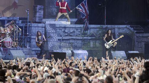 Los gigantes Iron Maiden se comen Madrid con un indígena terrorífico
