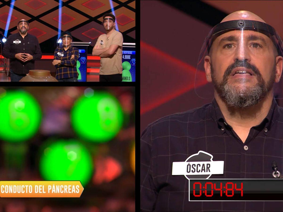 Foto: Óscar Díaz, en '¡Boom!'. (Antena 3)
