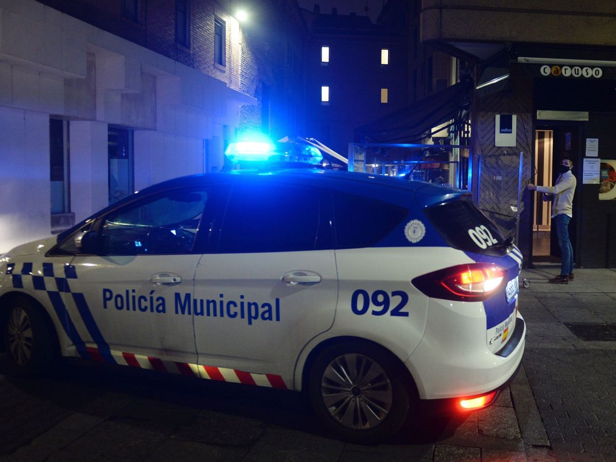 Foto: La Policía Municipal buscó por el centro de Valladolid hasta dar con el ladrón (EFE/Nacho Gallego)