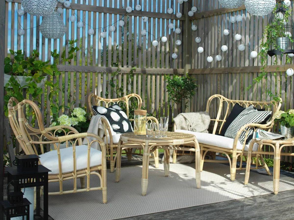 Foto: Las novedades de Ikea te ayudan a estrenar terraza. (Cortesía)