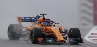 Post de Hamilton lidera unos Libres pasados por agua con Sainz 7º y Alonso 11º