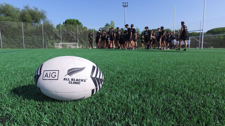 Kiwi House es la empresa española que hace posible que los All Blacks vengan a España. (Foto: All Blacks Clinic)