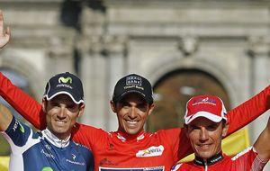 Contador, 'Purito', Valverde y 'Samu', elegidos para el Mundial