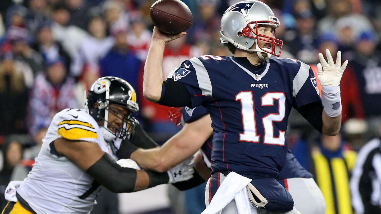 Tom Brady, 'quarterback' de los New England Patriots (Geoff Burke/USA TODAY Sports)