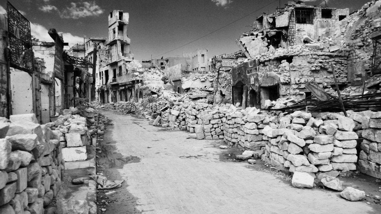 Estado de los alrededores de la plaza Al-Hatab. (G. Garroum)