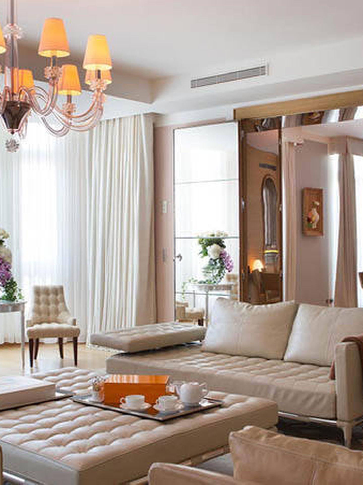 Suite presidencial del hotel Le Royal Manceau. (Cortesía)