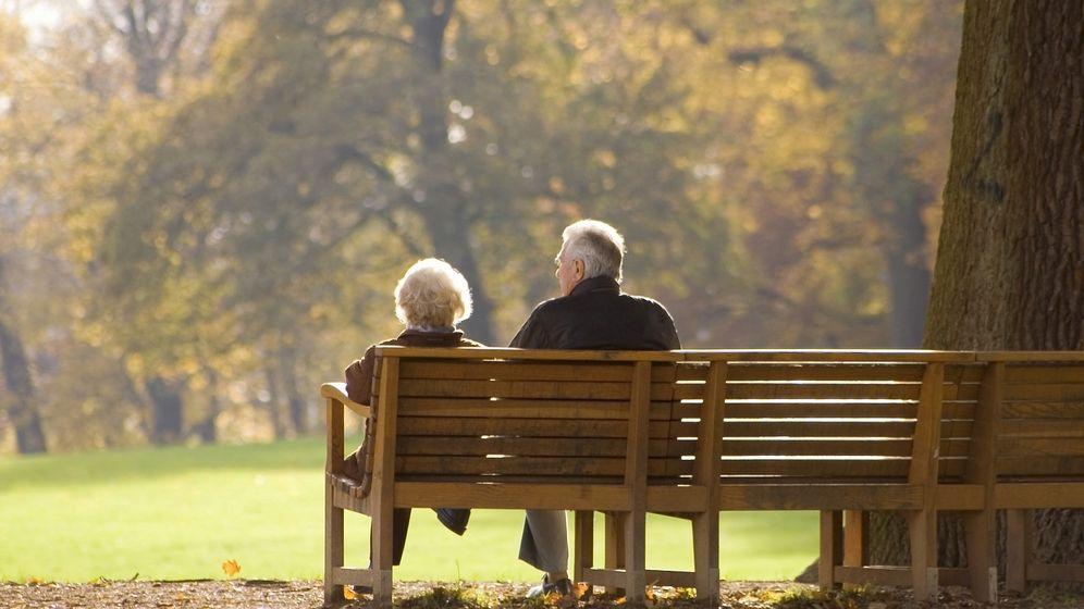 Foto: Una pareja de ancianos.