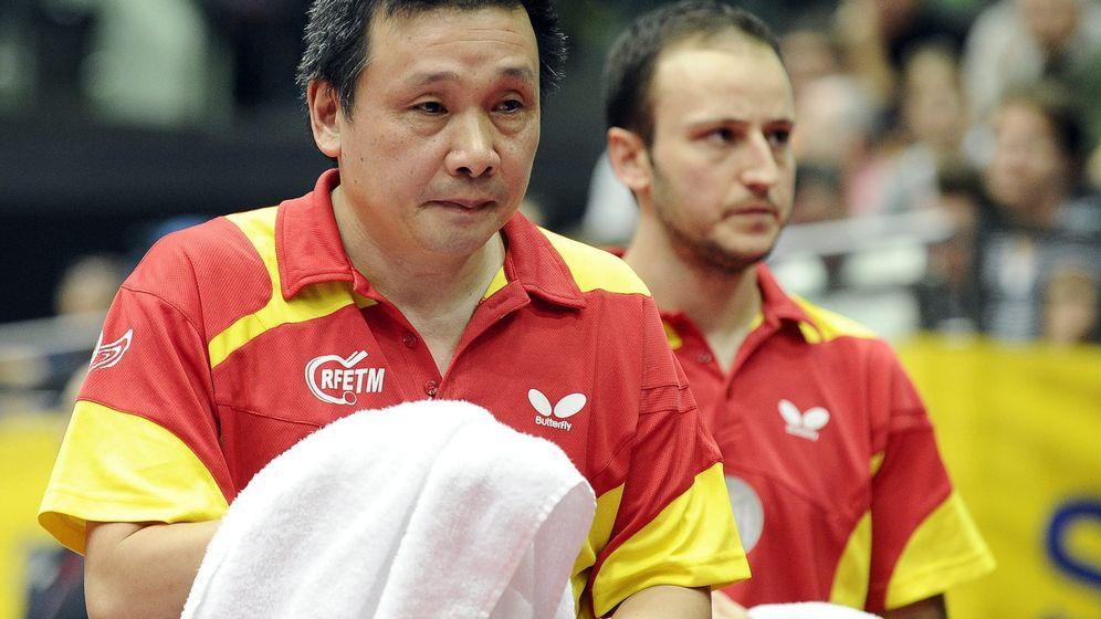 Foto: El chino nacionalizado con España, durante un torneo europeo (Hans Punz/EFE)