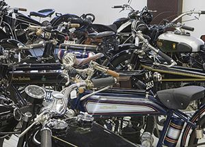 Foto: Subastan 100 motos históricas