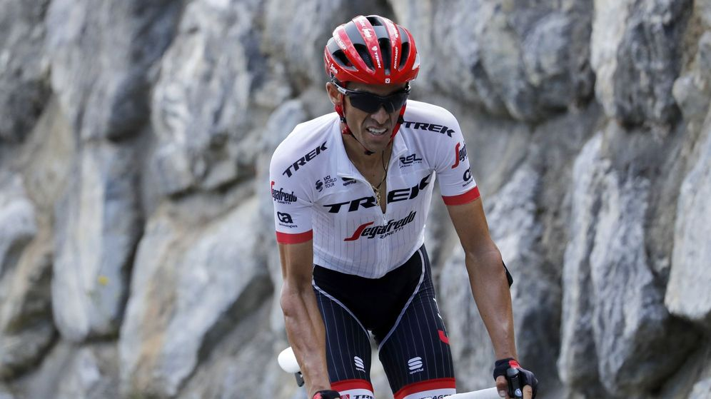 Foto: Alberto Contador anuncia su retirada cuando finalice la Vuelta a España. (EFE)