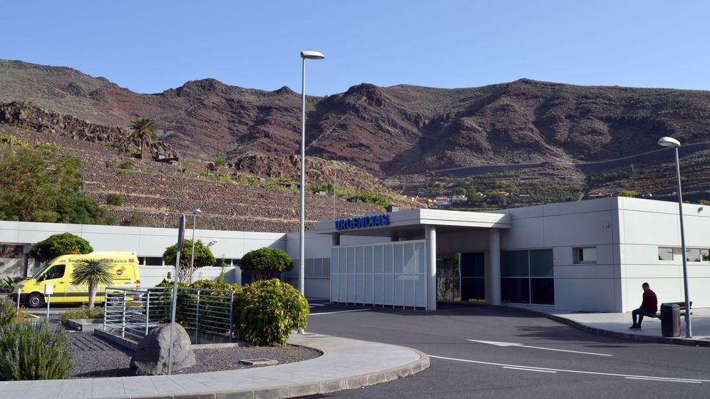 Foto:  Imagen del Hospital de La Gomera. (EFE)