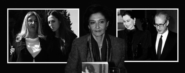 Foto: Muere Elena Arnedo, la primera esposa de Miguel Boyer y madre de dos de sus hijos