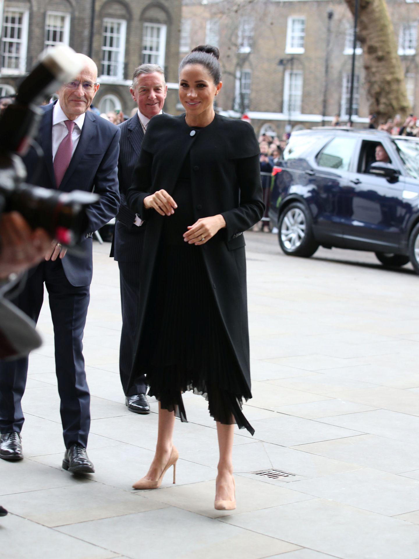 El look de la duquesa. (Reuters)