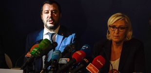 Post de Un Salvini en busca de alianzas ve