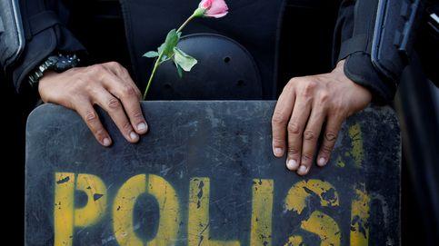 Protestas en Yakarta