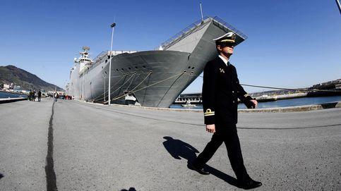 La Armada española promete volver a Getxo tras el éxito del portaaviones Juan Carlos I