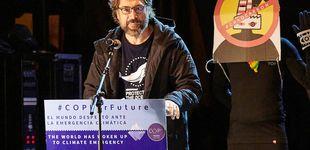 Post de Javier Bardem: discurso junto a Greta Thumberg, insulto a Almeida y una disculpa