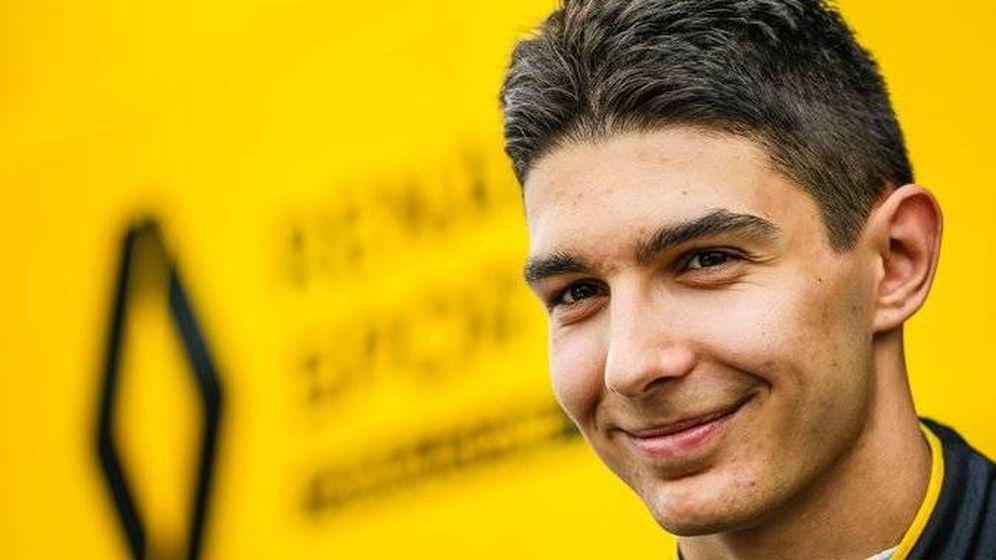 Foto: Esteban Ocon ficha por Renault para 2020. (Renault)