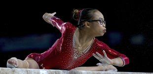 Post de Morgan Hurd, el nuevo fenómeno de la gimnasia que reta a Simone Biles