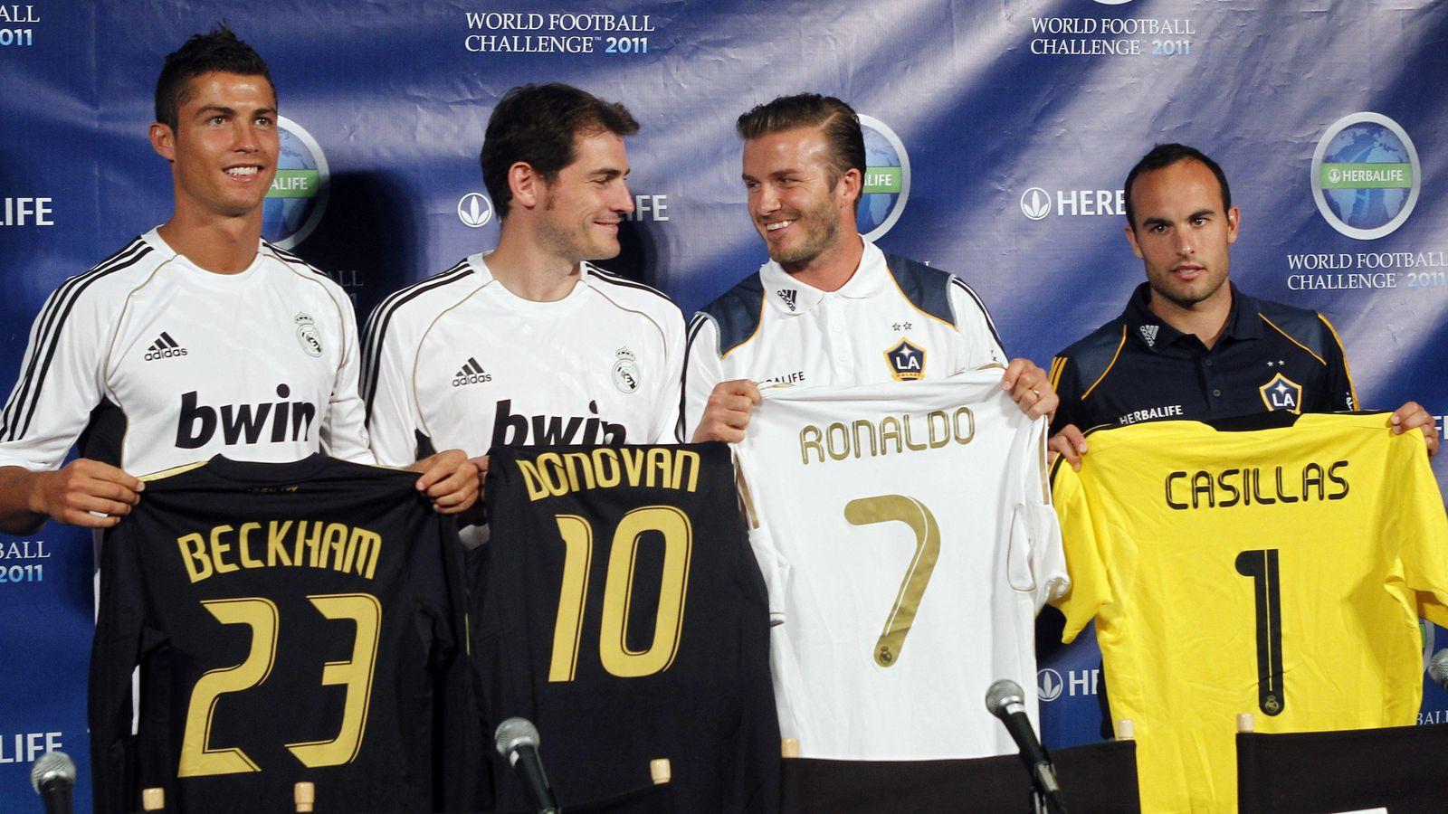 Real Madrid  Cristiano Ronaldo quiere ser como Beckham 37542139334