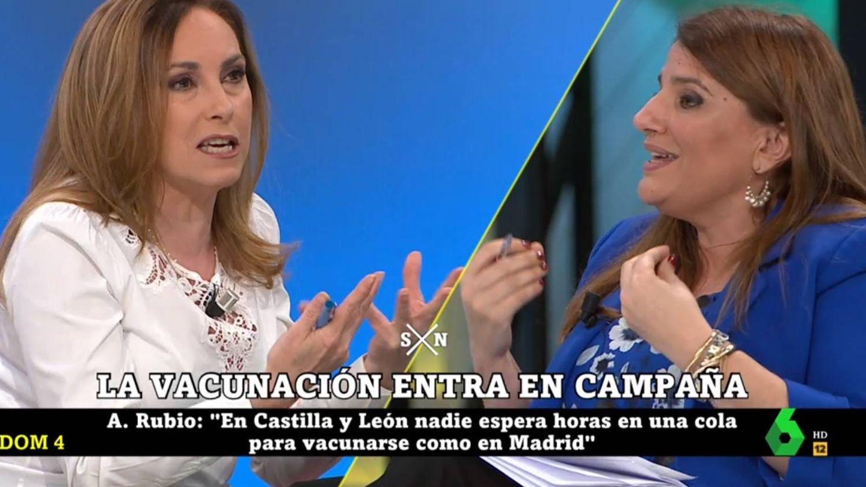 Rubio y Claver, en 'La Sexta noche'. (Atresmedia).
