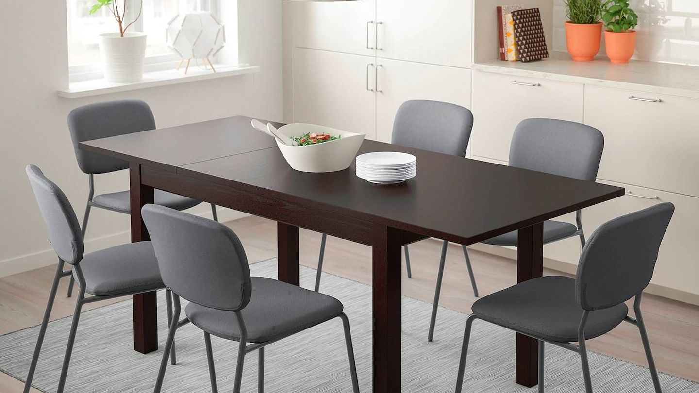 Mesa extensible de Ikea para tu comedor. (Cortesía)