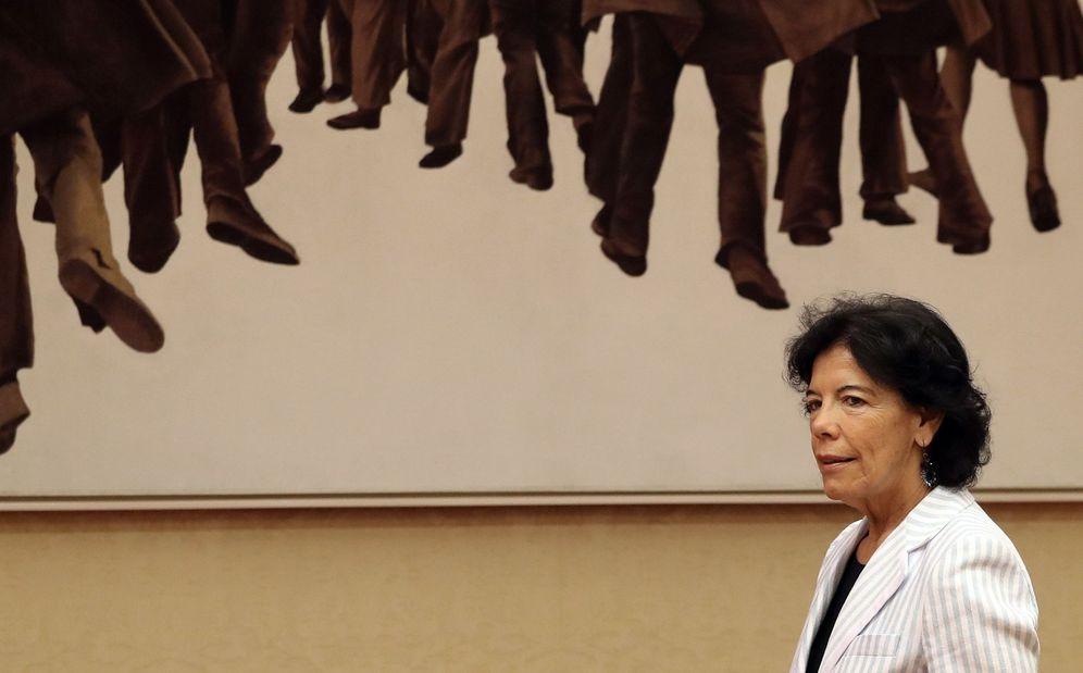 Foto: La ministra de Educación y Formación Profesional, este 11 de julio en el Congreso. (EFE)