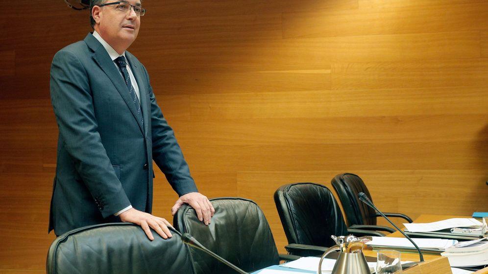 Foto: El presidente de las Corts Valencianes, Enric Morera. (EFE)