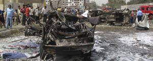 La Embajada española en Iraq sufre daños de consideración en una cadena de atentados