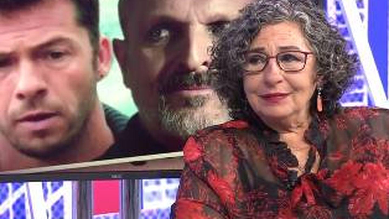 Lola Medina en 'Sábado Deluxe'.(Mediaset)