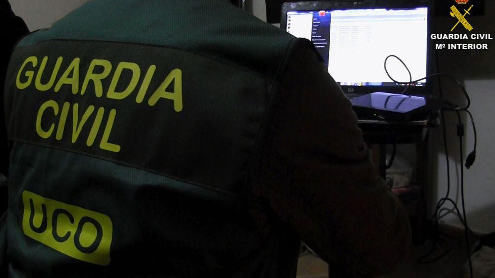 Foto: Fotografía facilitada por la Guardia Civil. (EFE)