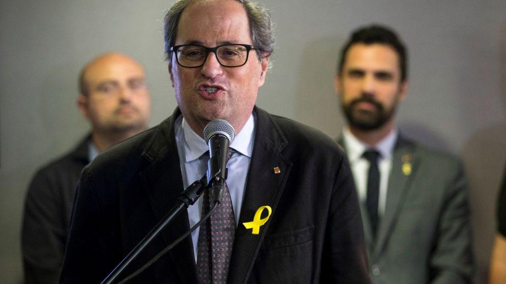 Torra devuelve a la Generalitat a los tiempos de Puigdemont, pero con tácticas nuevas