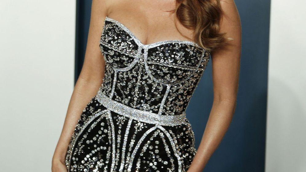 Foto: Sofia Vergara, en la fiesta de 'Vanity Fair' tras los Oscar. (EFE)