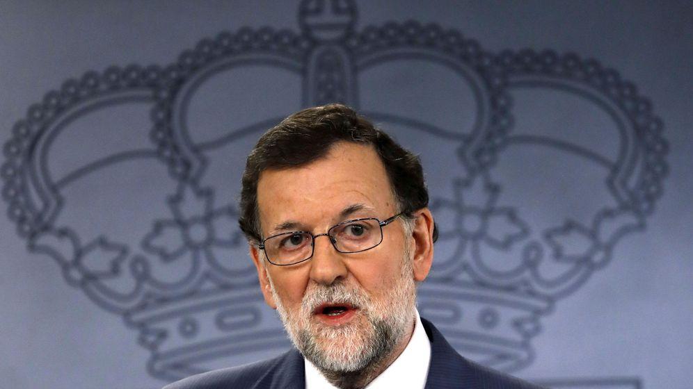 Foto: El presidente del Gobierno, Mariano Rajoy, en una rueda de prensa. (EFE)
