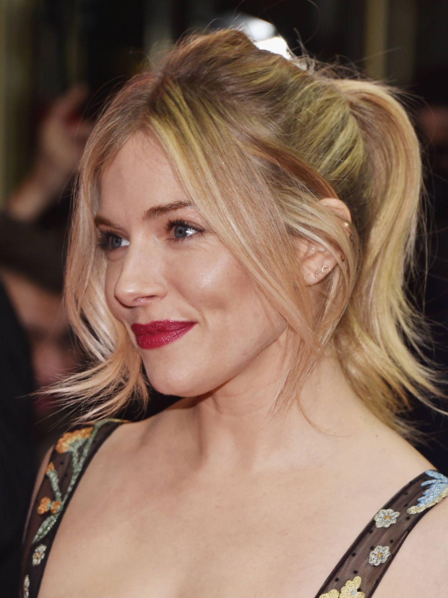Sienna Miller, en la Berlinale de 2017.  (Getty)
