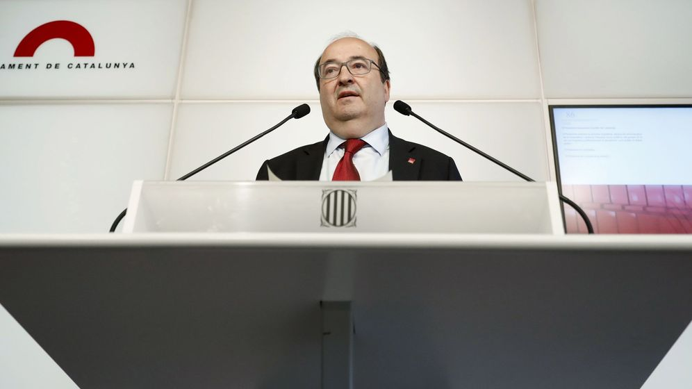 Foto: El líder del PSC, Miquel Iceta. (EFE)