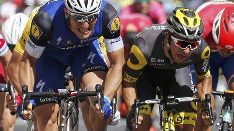 Kittel gana por un milímetro mientras Contador sigue sufriendo sobre el sillín
