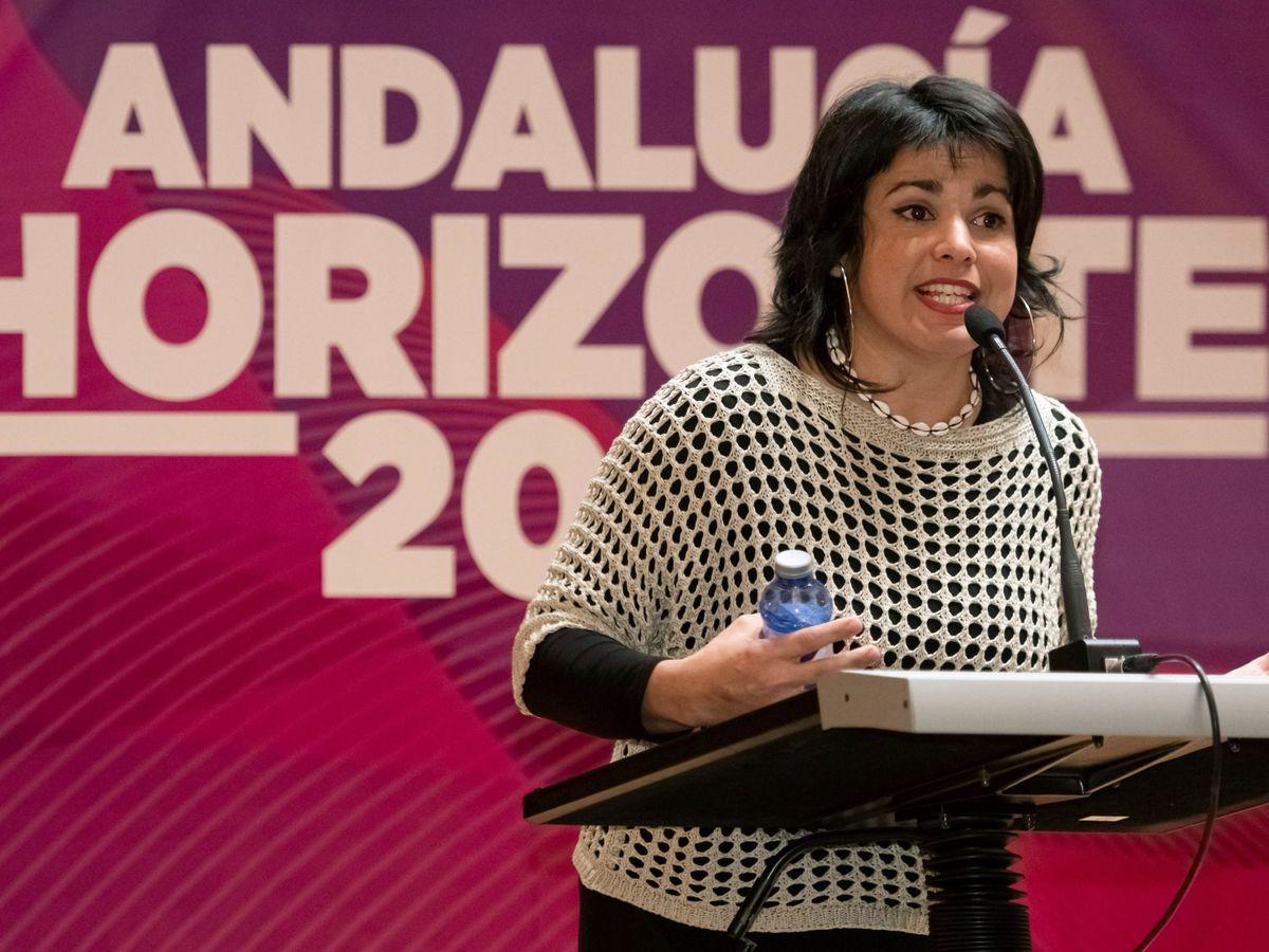 Foto: Teresa Rodríguez en una imagen de archivo. (EFE)