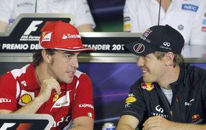 El 'efecto halo': ¿quién es mejor, Vettel o Fernando Alonso?