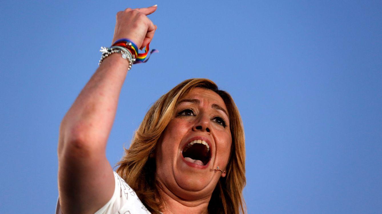 Susana Díaz viene con el rodillo