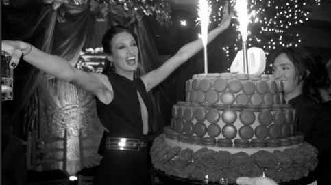 Instagram – Una tarta gigante para celebrar los 40 de Nieves Álvarez