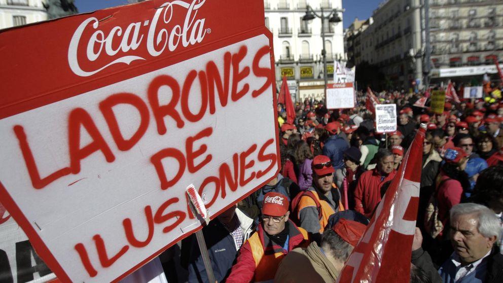 Simancas lanza un llamamiento a no beber  Coca-Cola si hay despidos