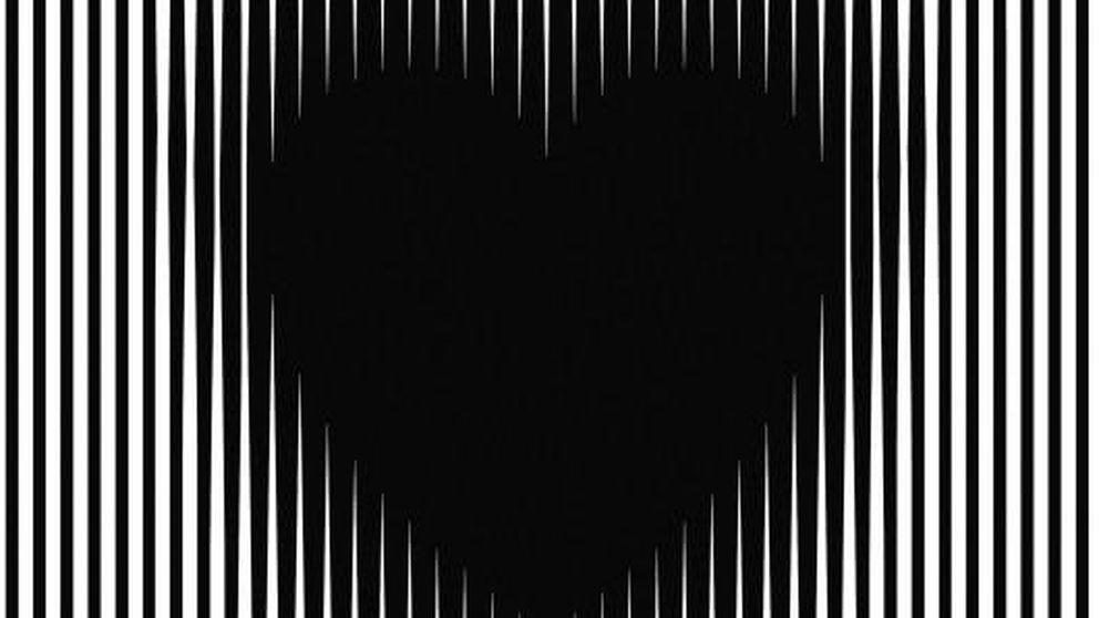 Corazones 'vivos' y círculos ocultos: las 10 ilusiones ópticas más virales de internet