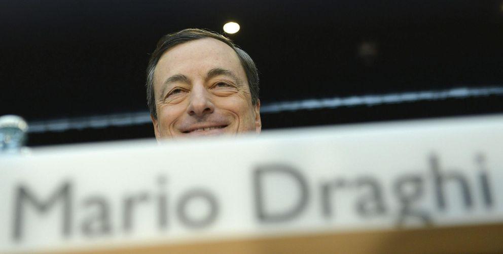 El presidente del Banco Central Europeo (BCE), Mario Draghi. (EFE)